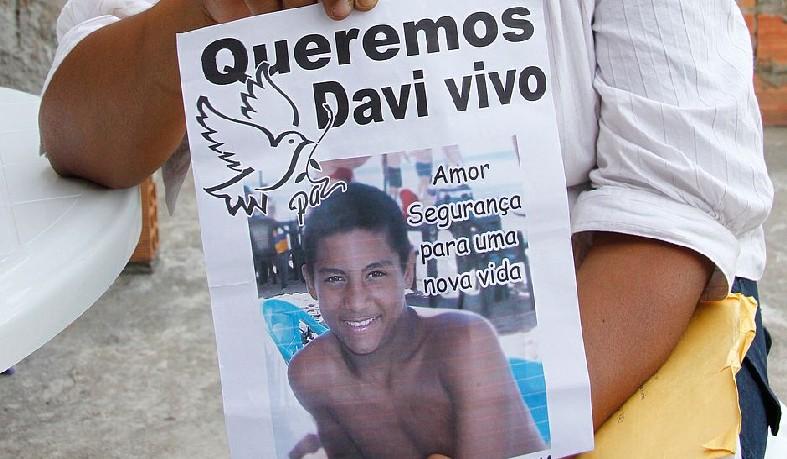 Davi Fiúza desapareceu em 24 de outubro de 2014