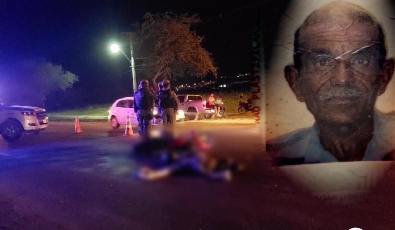 A vítima se desequilibrou durante uma ultrapassagem. O motorista da carreta não foi identificado.