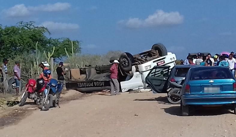 O acidente acorreu na tarde desta segunda-feira (17), e as circunstâncias ainda são desconhecidas.