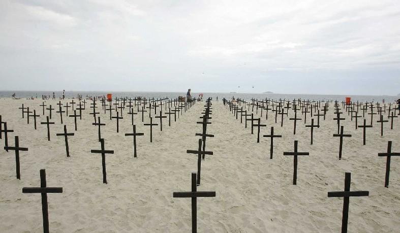Em um mês, o país contabilizou 3 mil homicídios