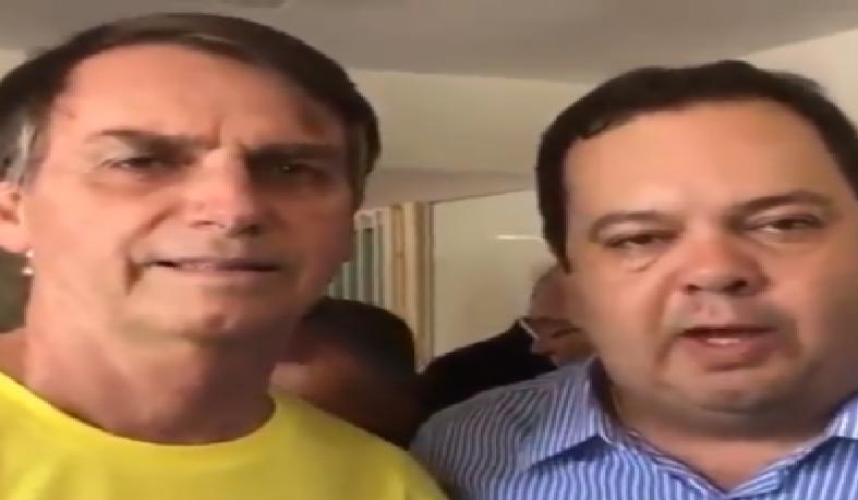 Elmar Nascimento (DEM-BA) gravou um vídeo em que declara apoio a Jair Bolsonaro (PSL)