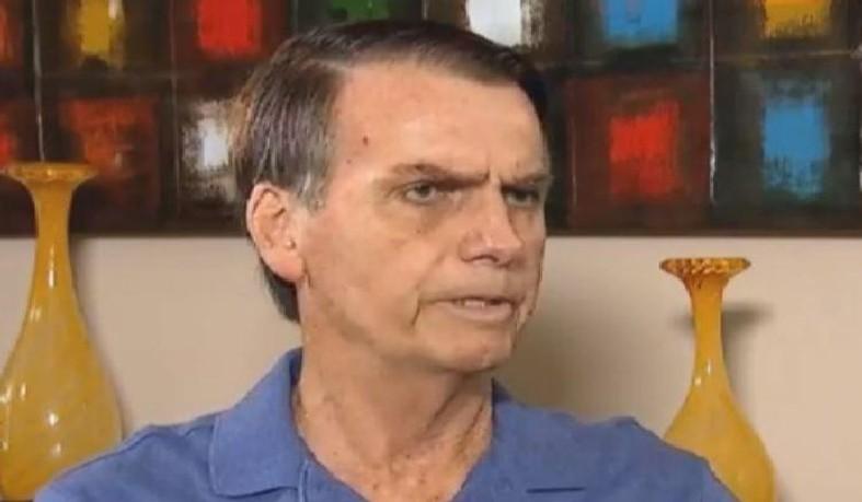 Candidato do PSL à Presidência da República, Jair Bolsonaro
