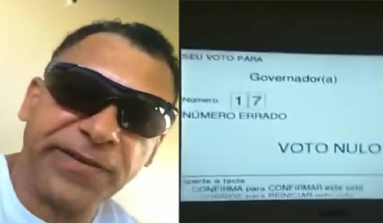 Eleitor se apresentou como PM da reserva e não foi preso por motivos hierárquicos