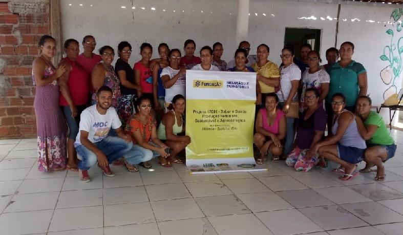 Este projeto irá beneficiar 24 empreendimentos do município de Santaluz, totalizando 110 mulheres beneficiadas diretamente
