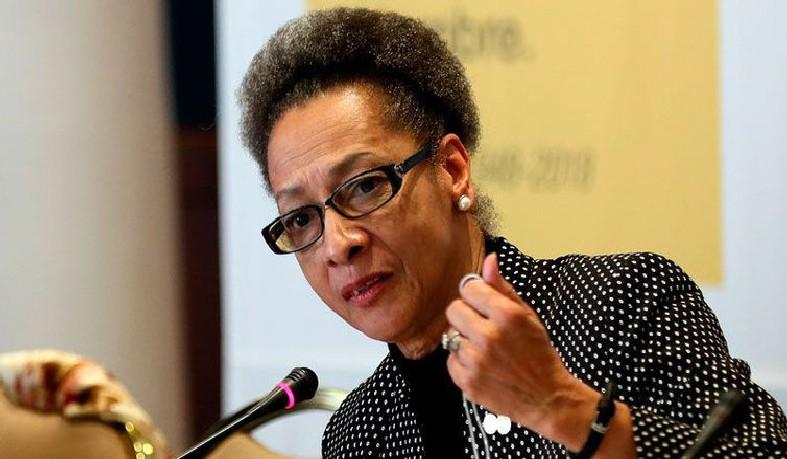 A presidente da Comissão Interamericana de Direitos Humanos, Margarette May Macaulay