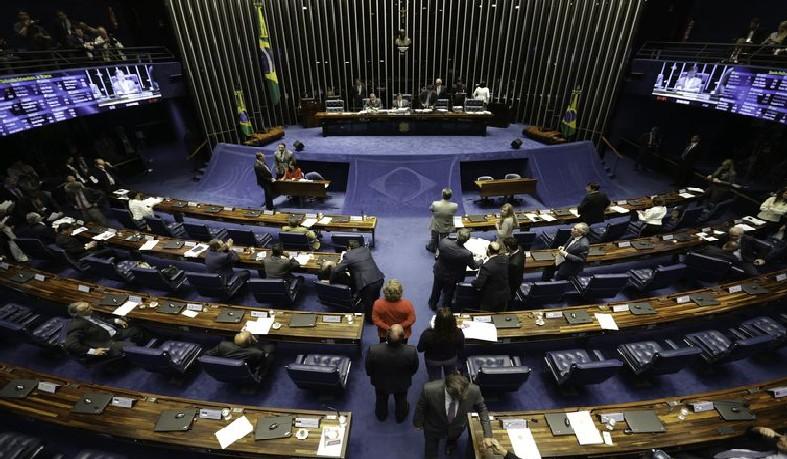 O reajuste para o STF foi aprovado por 41 votos a 16, com uma abstenção