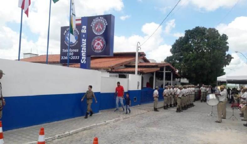 O ato de inauguração contou com a presença do comandante geral da Polícia Militar da Bahia Coronel Anselmo