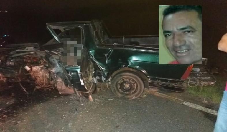O comerciante de Monte Santo conhecido como 'Leandro do Coco', ficou preso às ferragens e não resistiu aos ferimentos.