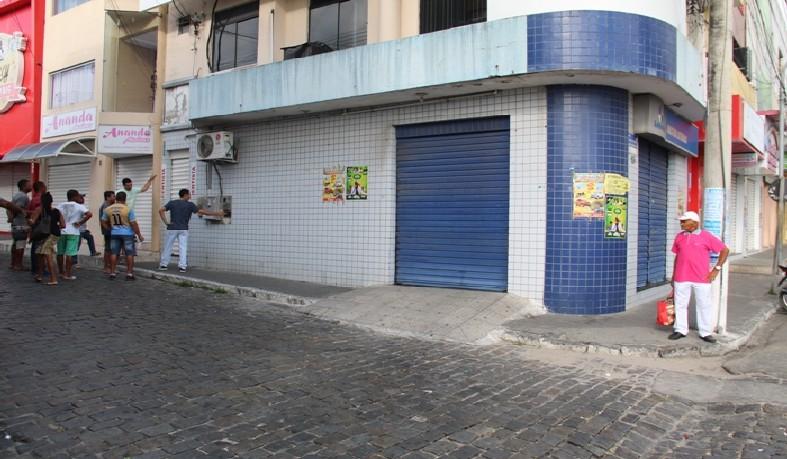 Casa lotérica fica localizada no centro da cidade