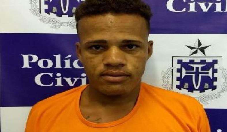 Jeílson Gomes de Freitas, de 18 anos, foi preso em flagrante no Departamento de Homicídios e Proteção à Pessoa (DHPP).