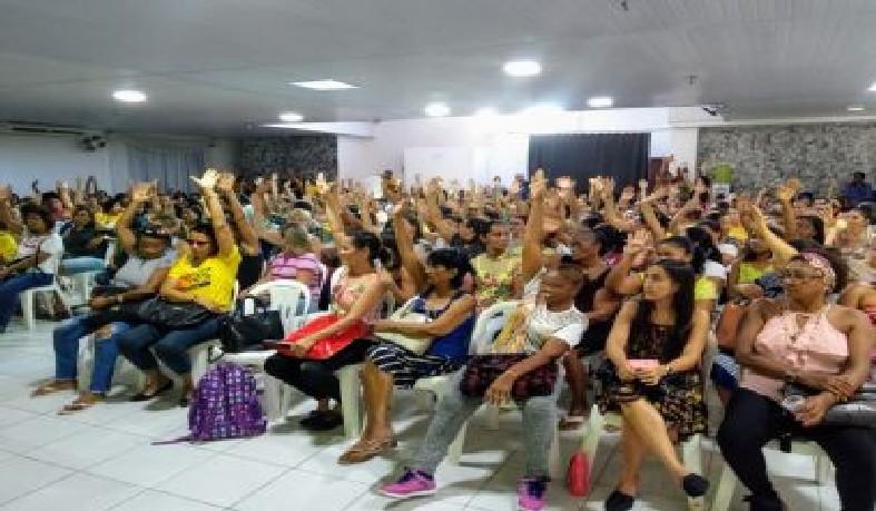 Os docentes decidiram pela paralisação em assembleia realizada na tarde desta quinta-feira (7)