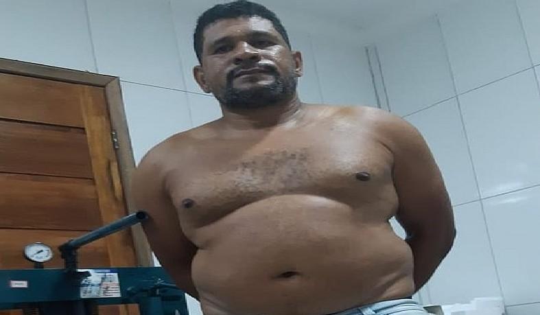 Ele estava escondido na cidade de Lagarto em Sergipe
