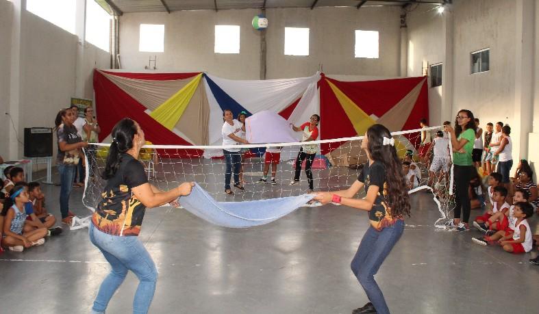 A atividade é a culminância do Projeto Páscoa Solidária