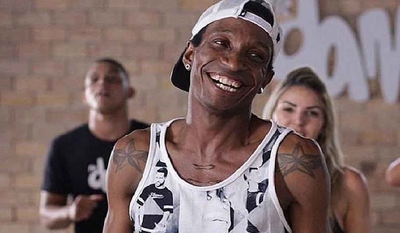 """O dançarino, também conhecido como """"Barata"""", foi internado na unidade médica há uma semana."""