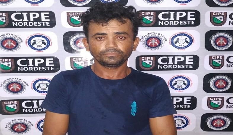 Clebio de Jesus Cruz foi preso por policiais militares da Companhia Independente de Policiamento Especializado (Cipe) Nordeste