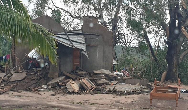 Ciclone Kenneth atingiu o território moçambicano com força maior que a do ciclone Idai