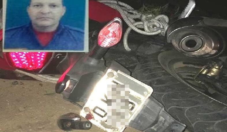 Vítima estava numa motocicleta que colidiu com um cavalo