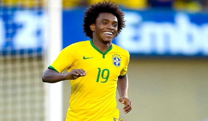 Willian disputou a últiima Copa do Mundo