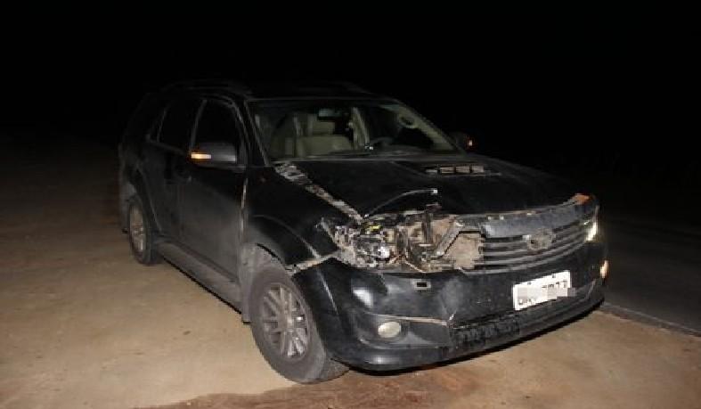 Carro do deputado Alex da Piatã se envolve em acidente com animal na BA 120
