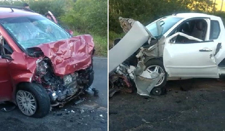 Mãe e filha morrem em grave acidente na BA 131