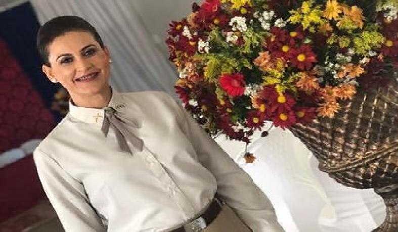 A capitã Maria Aparecida Vieira Teixeira assumiu, nesta quinta-feira (25), a 90ª CIPM/Riachão do Jacuípe)