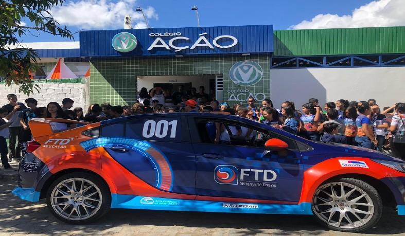 Equipe da FTD esteve em Santaluz nesta quinta-feira