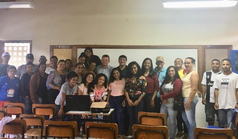 Aula inaugural realizada no Ceep Campo Paulo Freire