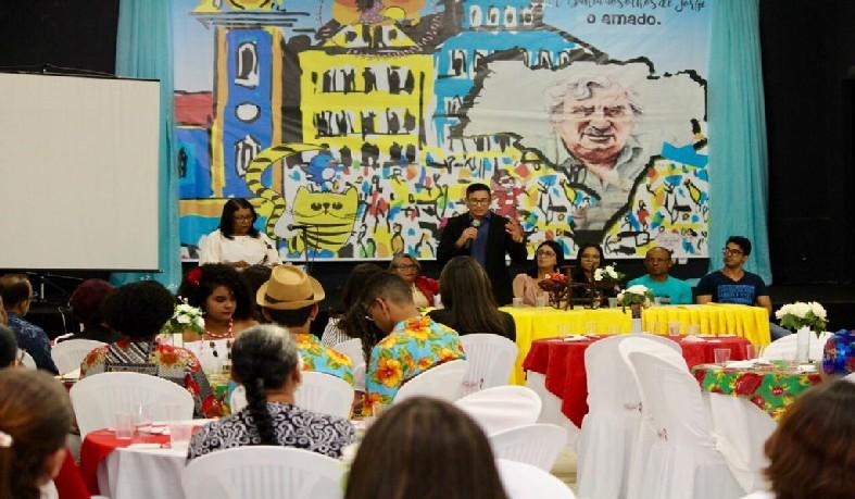 Abertura da Feira Literária do José Leitão