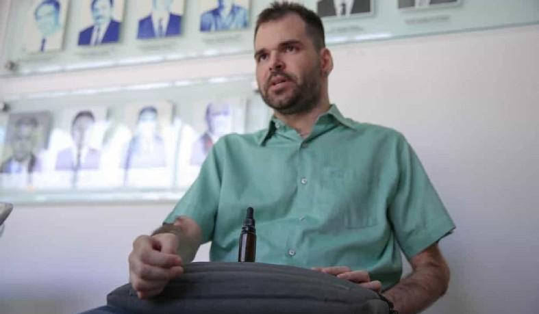 Cearense Rodrigo Bardon conseguiu a autorização da Anvisa há dois anos