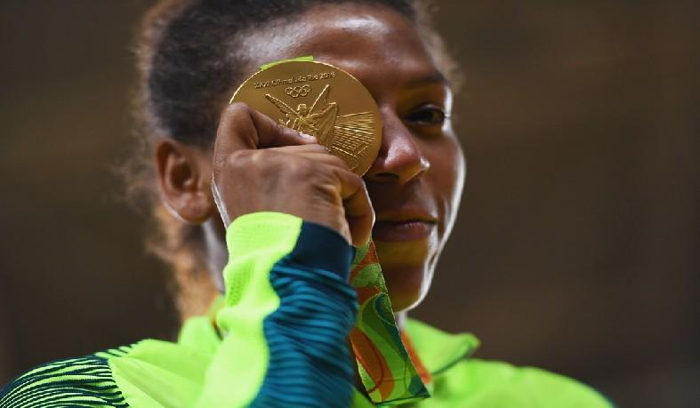 Rafaela Silva foi ouro na Rio 2016