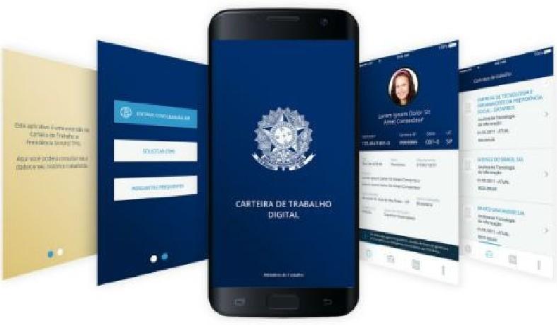 A Carteira Digital tem como identificação única o número do CPF do trabalhador, que passa a ser o número válido para fins de registro trabalhista.