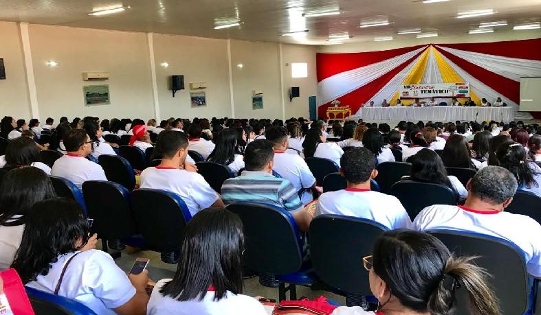 O evento aconteceu no auditório Lindaura Carneiro de Araújo (Cenos), e reuniu 350 trabalhadores