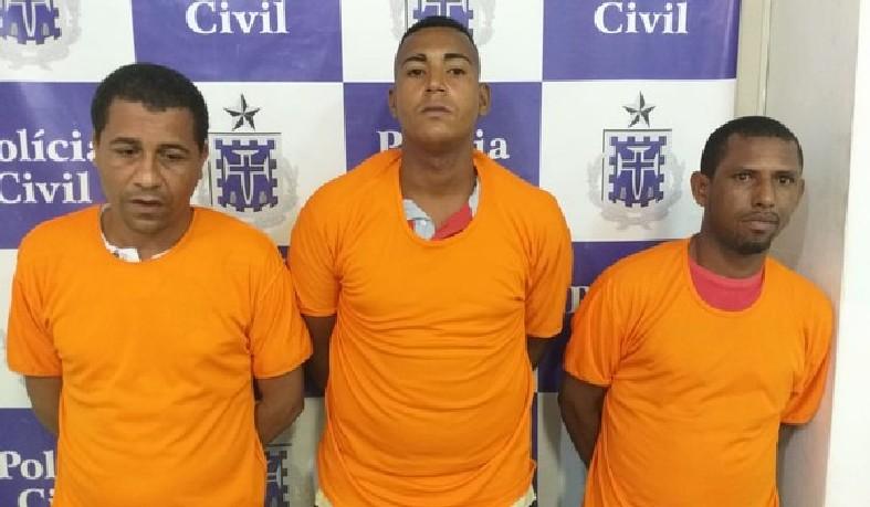 Trio é preso suspeito de matar irmãos a tiros no bairro Sete de Abril