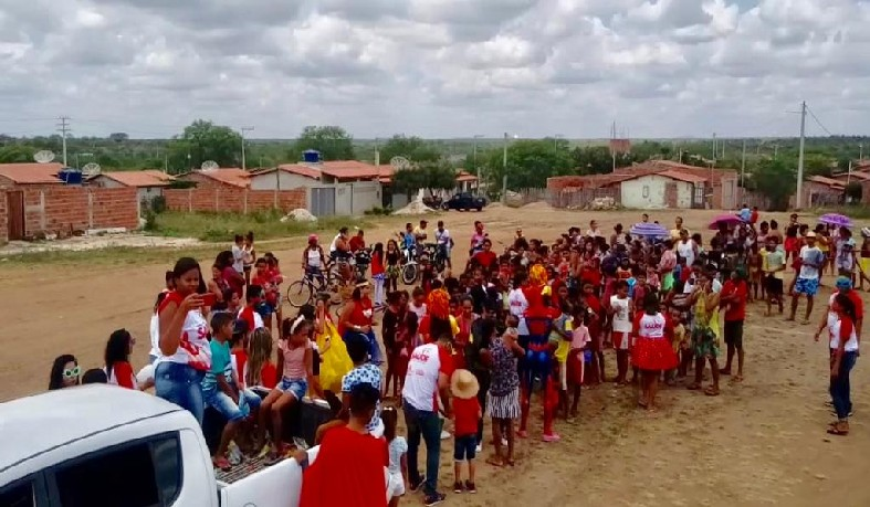 Ação do Projeto Saúde da Gente, em Santaluz