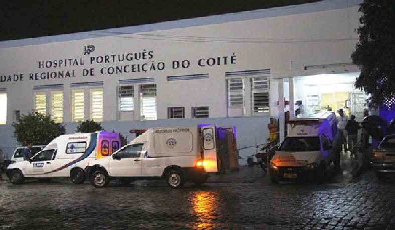 Vítima chegou a ser socorrida para o Hospital Português