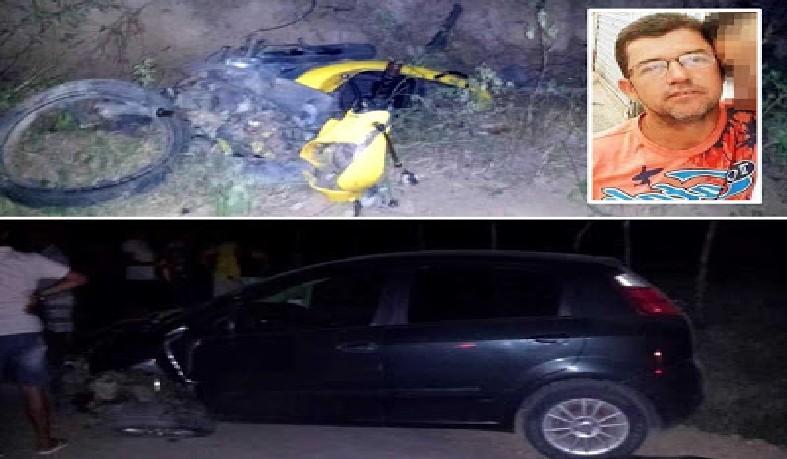 Homem morreu no local do acidente