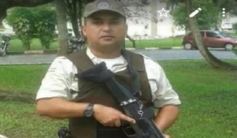 O policial militar foi morto durante assalto a restaurante em Camaçari