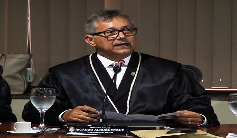 Procurador de Justiça do Pará Ricardo Albuquerque