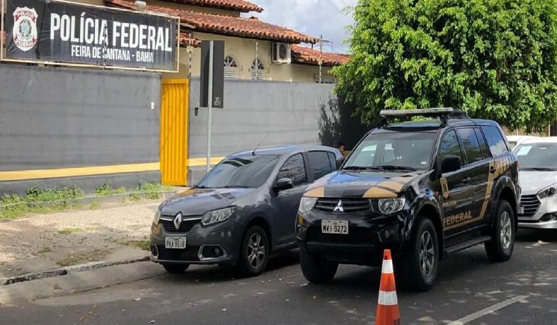 Mandados são cumpridos em Feira de Santana, Salvador, Santa Bárbara e Catu, além de Fortaleza, no Ceará