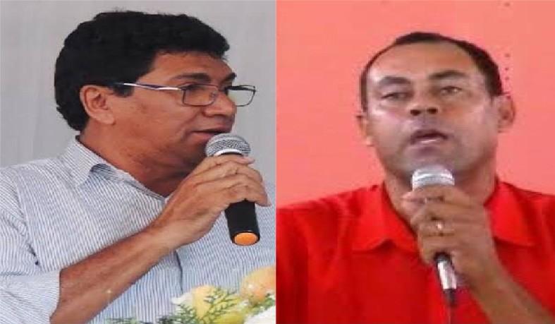 Zé Paulo, presidente do PCdoB  e José Hamilton, liderança do PT