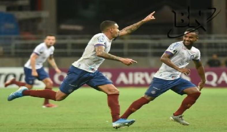 Gilberto, Gregore e Élber marcaram os gols do Esquadrão de Aço.