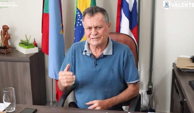 Ubaldino Amaral (DEM) usou as redes sociais para fazer apelo à população
