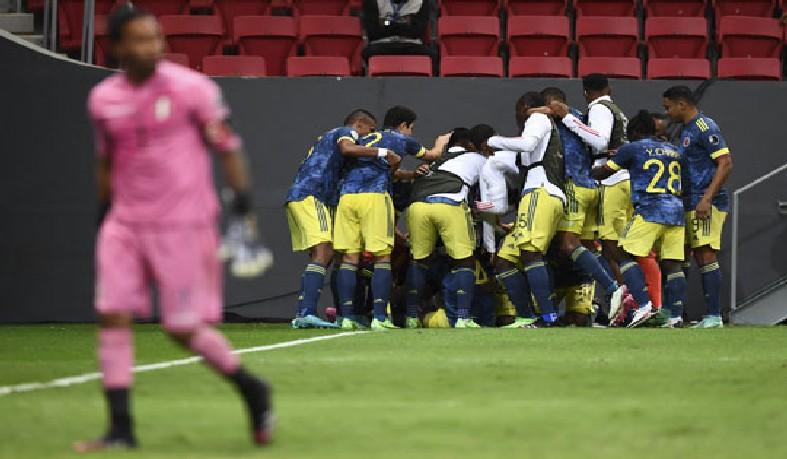 Colômbia venceu o Peru por 3 a 2 e conquistou a terceira colocação da Copa América