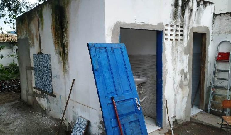 Banheiro do Colégio Antônio Bahia