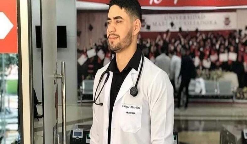 Estudante de medicina Caíque Souza Martins, tinha 22 anos