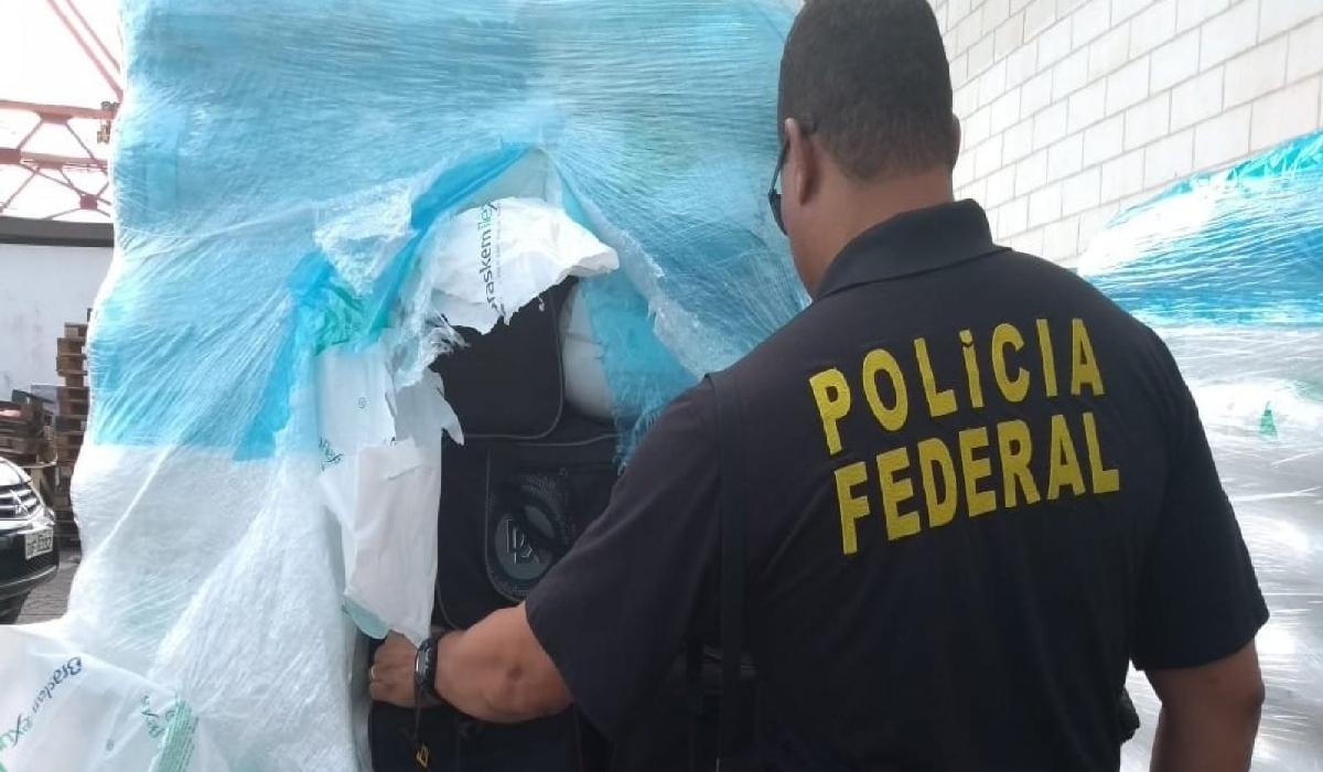 É a maior apreensão da droga já realizada na Bahia