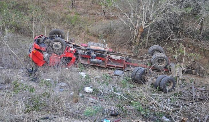 Motorista de caminhão morreu após acidente no sudoeste da Bahia
