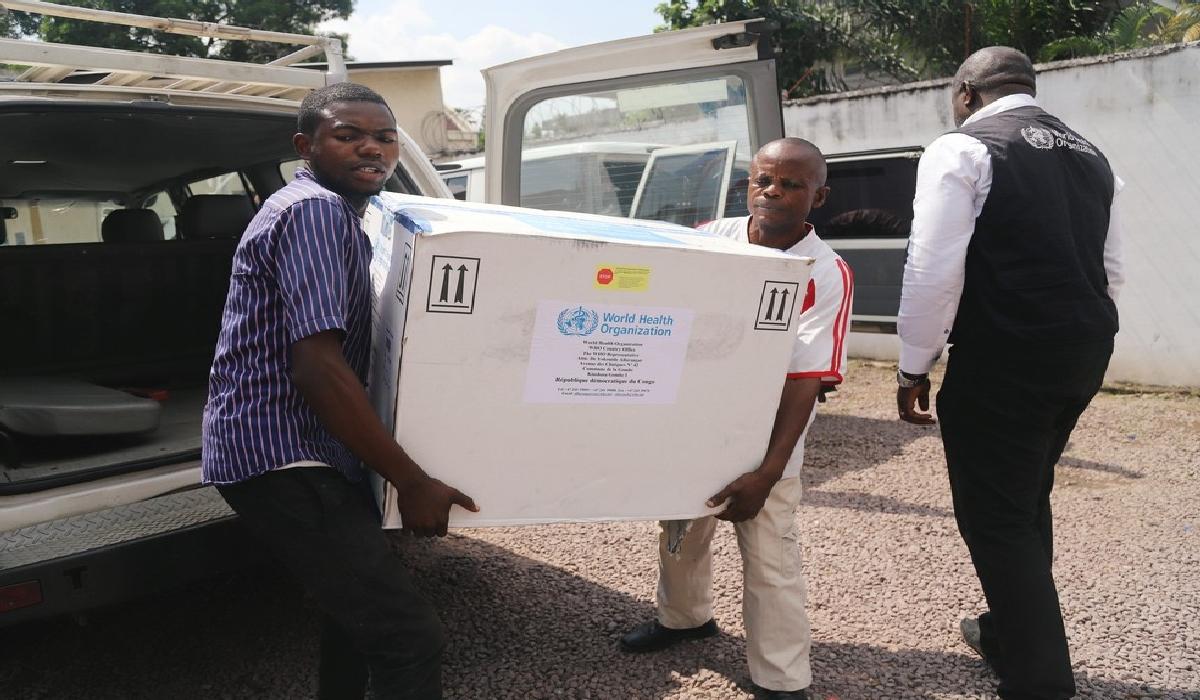 Lote de vacina experimental contra o ebola chega ao Congo no dia 16 de maio de 2018