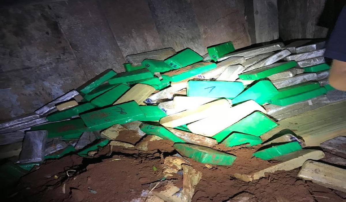Bunker em Itaquiraí (MS) era utilizado para dividir a distribuição da droga e dificultar a fiscalização, diz delegado