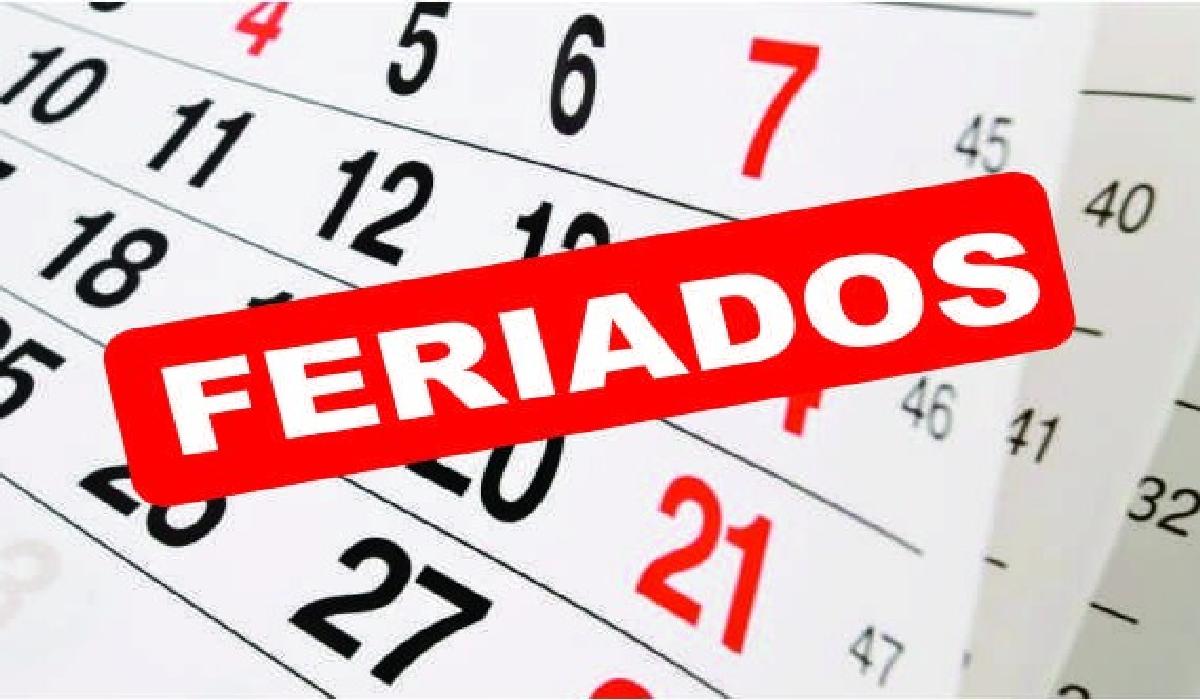 Ano terá nove feriados nacionais e cinco pontos facultativos.
